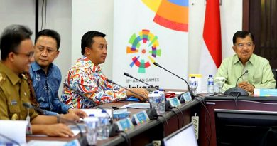 Jelang Asian Games, Wapres: Jaga Fasilitas Olahraga