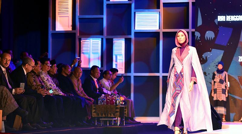Presiden Jokowi Buka Muslim Fashion Festival 2018