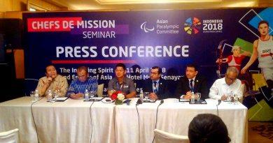 Wakil Jaksa Agung Arminsyah Ditunjuk sebagai CdM Asian Para Games 2018