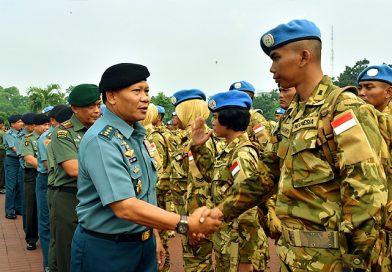 Mabes TNI Gelar Upacara Pemberangkatan Satgas TNI Kontingen Garuda XXXVD UNAMID
