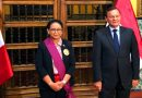 Retno Marsudi Terima Penghargaan Tertinggi bagi Warga Sipil dari Pemerintah Peru