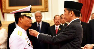 Dilantik Presiden Jokowi, Siwi Sukma Adji Resmi Jabat KSAL