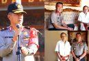 Silahturahmi Wakapolda Bali dengan Mantan Gubernur Dewa Beratha