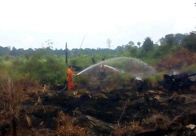 Pantang Lengah Cegah Kebakaran Hutan dan Lahan di Hari Raya