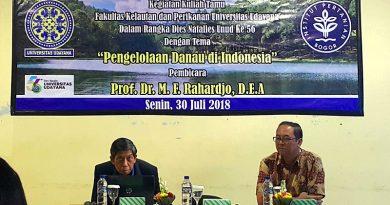Unud dan IPB Gelar Kuliah Tamu Pengelolaan Danau di Bali