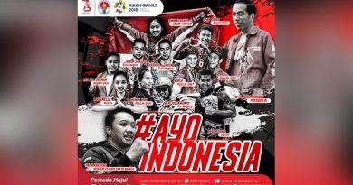 Presiden Jokowi Resmi Buka Asian Games XVIII di Jakarta