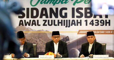 Pemerintah Tetapkan Idul Adha 1439H Jatuh Hari Rabu 22 Agustus