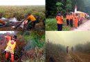 Manggala Agni Pangkalan Bun Berjuang Tiada Henti Padamkan Karhutla di Kalteng