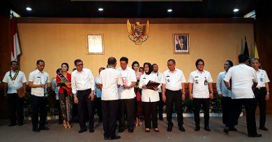 Menkumham Resmikan 14 Desa Sadar Hukum di Bali