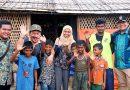 Anak Rohingya Tetap Antusias Belajar di Sekolah Darurat