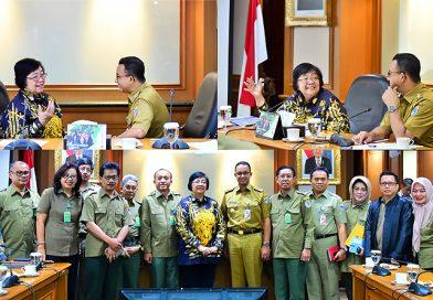 Gubernur DKI dan Menteri LHK Bahas Kegiatan Terkait KLHK