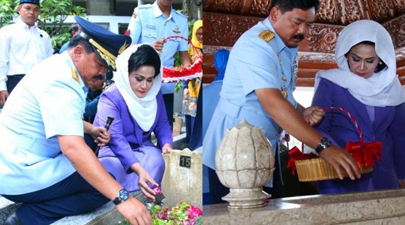 Panglima TNI Beserta Para Petinggi TNI Ziarah ke Makam Bung Karno