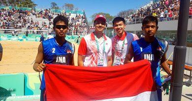 Badminton Single Putra dan Tim Voli Pantai Putra Indonesia Sukses Melaju di Argentina