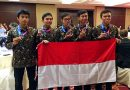 Indonesia Raih Emas di Olimpiade Astronomi dan Astrofisika di Beijing
