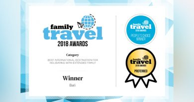 Bali Raih 3 Penghargaan Family Travel People's Choice Awards