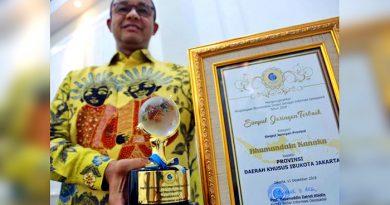 DKI Jakarta Berhasil Raih Penghargaan Bhumandala Kanaka dari BIG