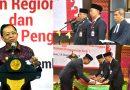 Gubernur Koster Hadiri Pelantikan Kepala OJK Bali yang Baru