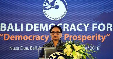 Menlu Retno: Kunci Kesuksesan Demokrasi adalah Inklusifitas