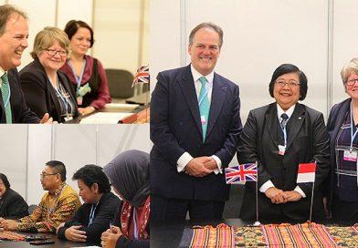 Indonesia-Inggris Perkuat Kerjasama Sektor LHK