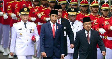 Wan Hasyim dan Rohidin Dilantik Presiden Jokowi
