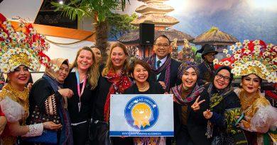 Dinobatkan The Best Destination, Indonesia Raih Reisgraag Award 2019