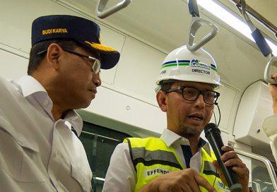MRT Jakarta akan Beroperasi Bulan Depan