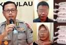 Polda Kepri Tangkap Pria dan Wanita Bawa Narkotika Dimasukan Dalam Perut