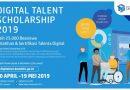 Program Digital Talent Scholarship 2019: Kominfo Buka 25 Ribu Beasiswa