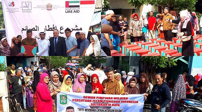 575 Yatim Dhuafa dan Mualaf Terima Santunan dari PITI DKI, Yayasan AMOI dan Yayasan UEA