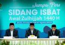 Pemerintah: Idul Adha 1440 H Jatuh Pada Ahad, 11 Agustus