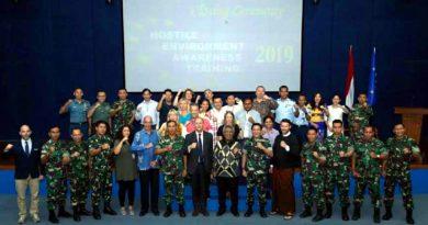 TNI dan Uni Eropa Bangun Kerjasama Pelatihan Diplomat Uni Eropa