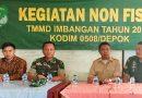 Satgas TMMD Imbangan Kodim 0508/Depok Gelar Sosialisasi Bela Negara di SMK Tapos