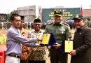 Sukses Laksanakan TMMD, Dandim 0508/Depok Terima Penghargaan dari Masyarakat