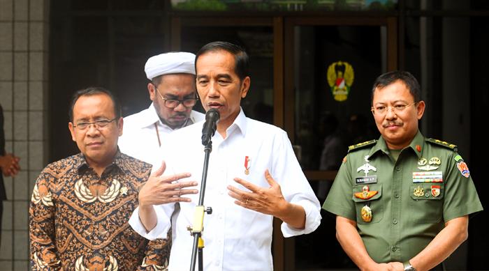 Jokowi Minta Tambahan Pengamanan Bagi Pejabat