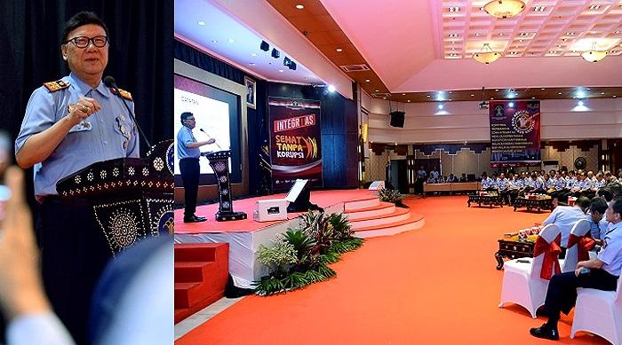 Undang KPK, Kemenkumham Gelar Pembekalan Cegah Korupsi