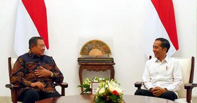 Kunjungi Istana Merdeka, SBY-Jokowi Bahas Masalah Kebangsaan