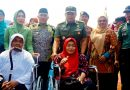 TMMD ke 106 Kota Depok: Dandim 0508 Serahkan Bantuan 2 Kursi Roda