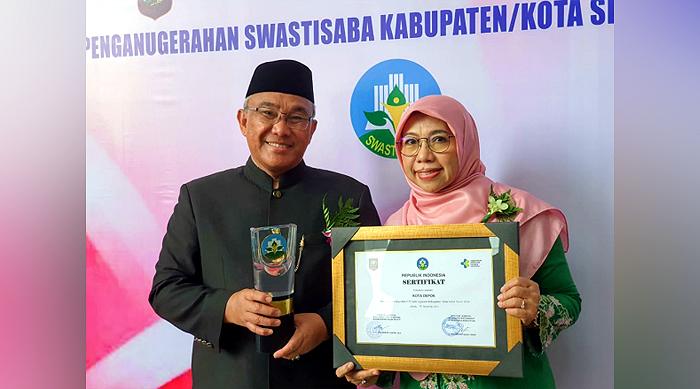 Raih Swasti Saba Wistara 2019, Depok Siap Pertahankan Penghargaan Kota Sehat