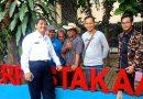 Hadiri Sidang Paripurna, Sekda Depok Ajak Wartawan Pantau Pengerjaan Paving Blok Kantor DPRD