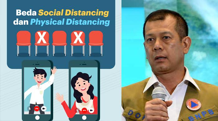 Kepala BNPB: Kebijakan Social dan Physical Distancing Harus Libatkan Tokoh Sampai RT-RW