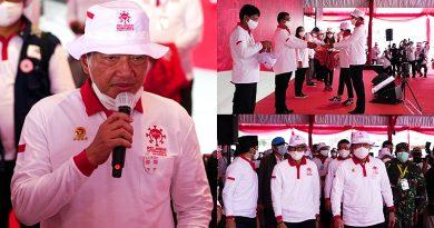 Budi Gunawan Hadiri Deklarasi Relawan Indonesia Bersatu Lawan Covid-19