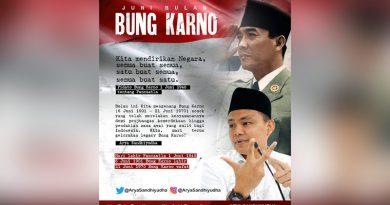 Menghidupkan Suluh Pancasila dan Gagasan Bung Karno dalam Gotong-Royong Penanganan COVİD-19