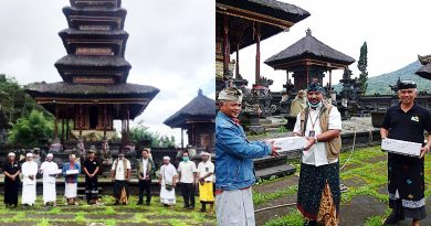 UPT PT PLN Bali-Bli Braya Gelar Kegiatan CSR Penerangan Pura di Buleleng Bali