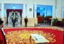 Presiden Jokowi Lantik Manahan Sitompul Jadi Hakim MK di Istana Negara