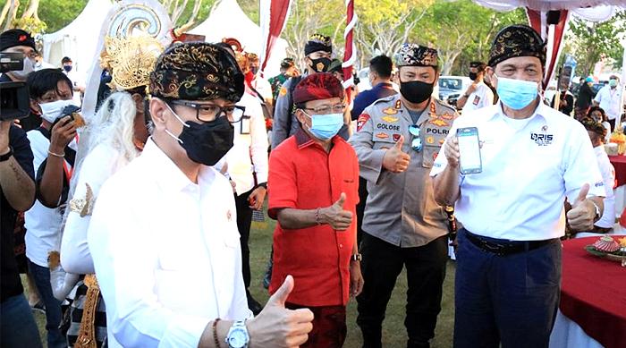 Gubernur Bali Wayan Koster Secara Resmi Kembali Buka Pintu Masuk Wisatawan Nusantara