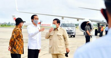 Didampingi Menhan dan KSP, Presiden Jokowi Kunker ke Kalteng