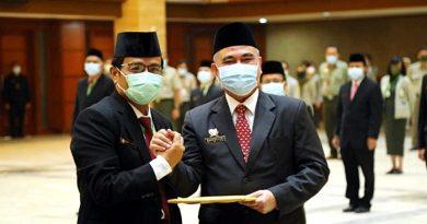 Dilantik Menteri Syahrul Yasin Limpo, Nasrullah Resmi Jabat Dirjen PKH Kementan