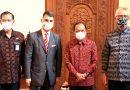 Terima Kunjungan Dubes Austria, Gubernur Bali Sebut Desa Adat Ikut Berperan Tangani Covid-19