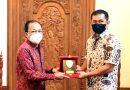 Mulai Berdinas di Bali, Pangdam IX/Udayana Mayjen TNI Maruli Simanjuntak Temui Gubernur I Wayan Koster