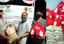 Disalurkan YPJI, Sekber Wartawan Kota Depok Terima Puluhan Paket Sembako dari Kemensos